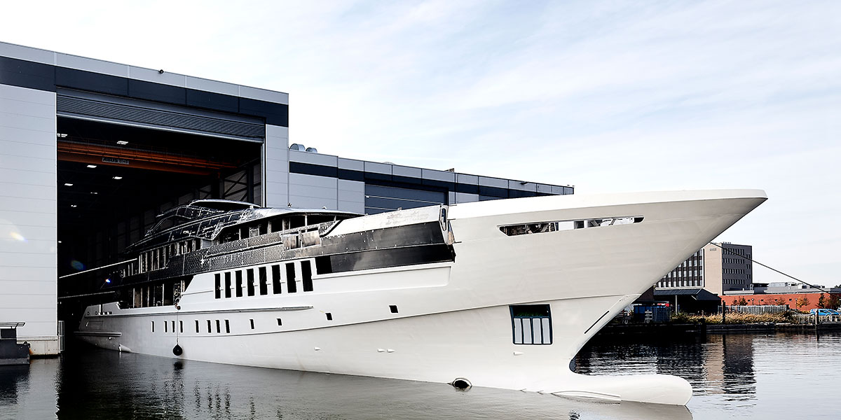 Heesen Announces Construction Progress on Project Castor