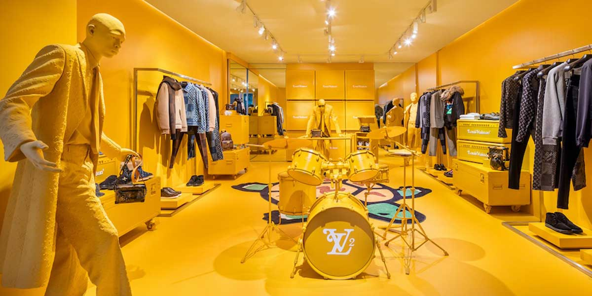 In NYC, Louis Vuitton temporary boutique opens