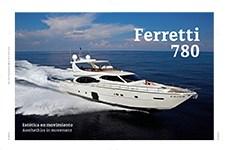 Ferretti 780 Aesthethics in movement - Viridiana Barahona G.