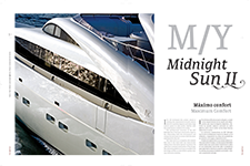 M/Y midnight sun II Maximum Comfort - Rafael Luna Grajeda