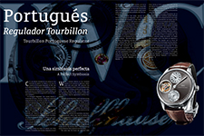 Tourbillon Portuguese Regulator - Rafael Luna Grajeda