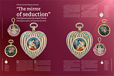 "Patek Philippe Museum presents: ""The mirror  of seduction"" - Andrés Ordorica"