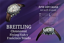 Breitling, Chronomat  Flying Fish y Francisco Toledo - Breitling