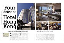Four Seasons Hotel Hong Kong - Elizabeth Luna