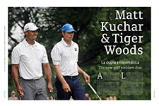 Matt Kuchar & Tiger Woods  - Ze Sergio Garay