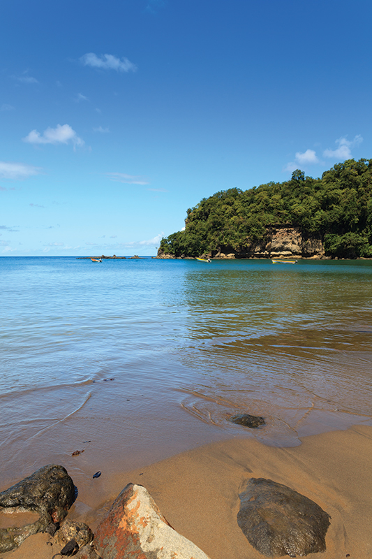 Anse La Raye is a small fishing village on the west cost of the Caribbean island of St Lucia.