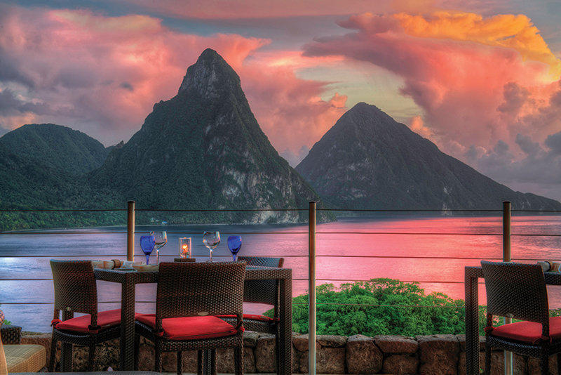St. Lucia is one of the most scenic islands of the Caribbean