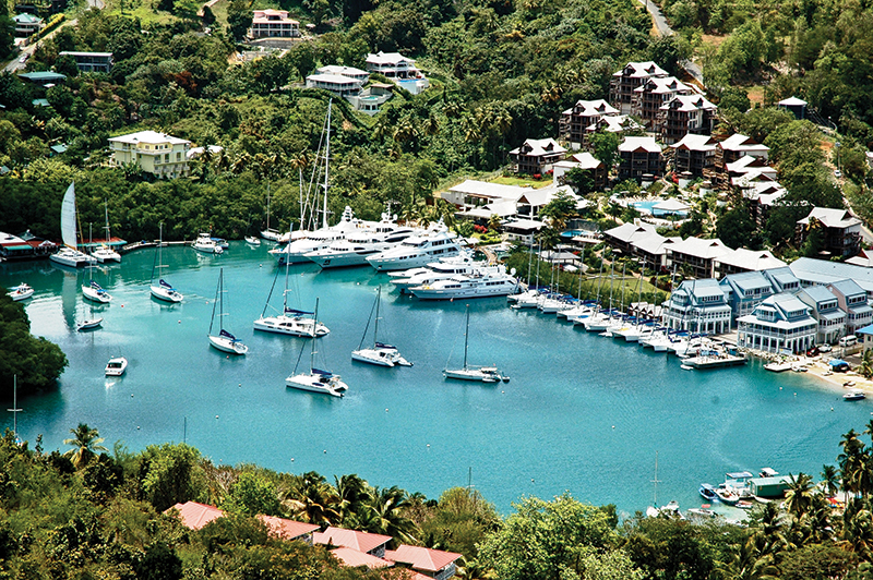 Capella Marigot Bay.