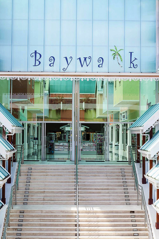Baywalk Shopping Mall in Rodney Bay