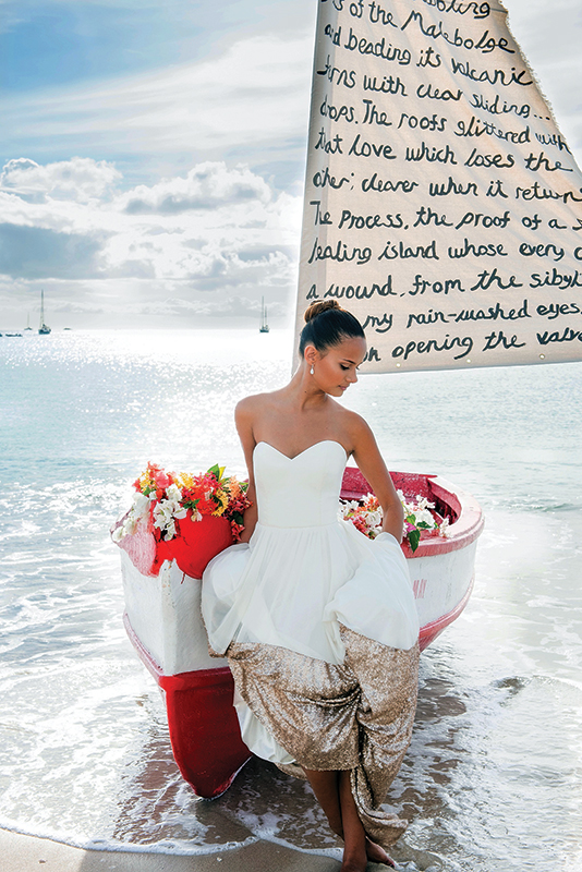 St. Lucia is an ideal destination for wedding celebrations