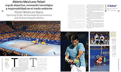 Telcel Mexican Open:  Sporting Pride, Technological Innovation and Climate Responsibility - AMURA