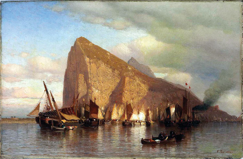 Clearing Storm at Gibraltar Samuel Colman, (1832-1920) - Smithsonian American Art Museum