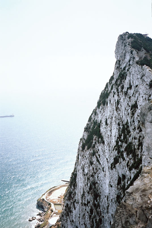 The Rock of Gibraltar, the sentry of the sea.
