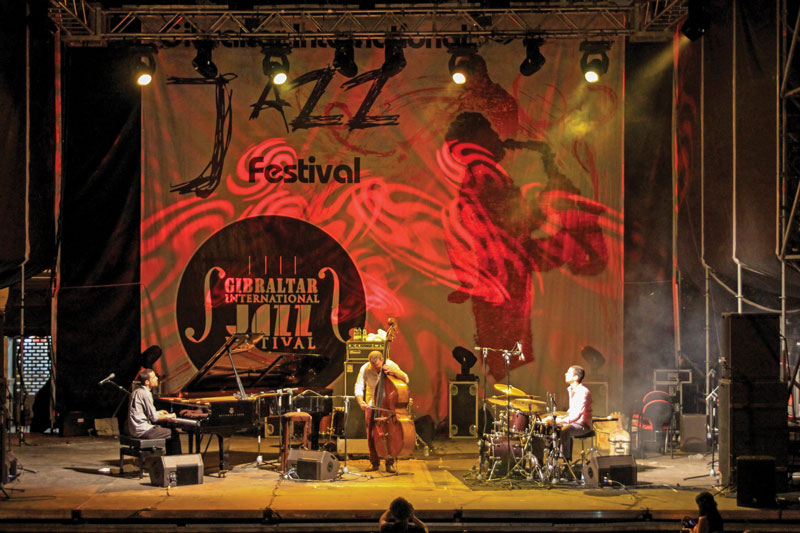 The most prominent artists of this genre are present at the Gibraltar International Jazz Festival.