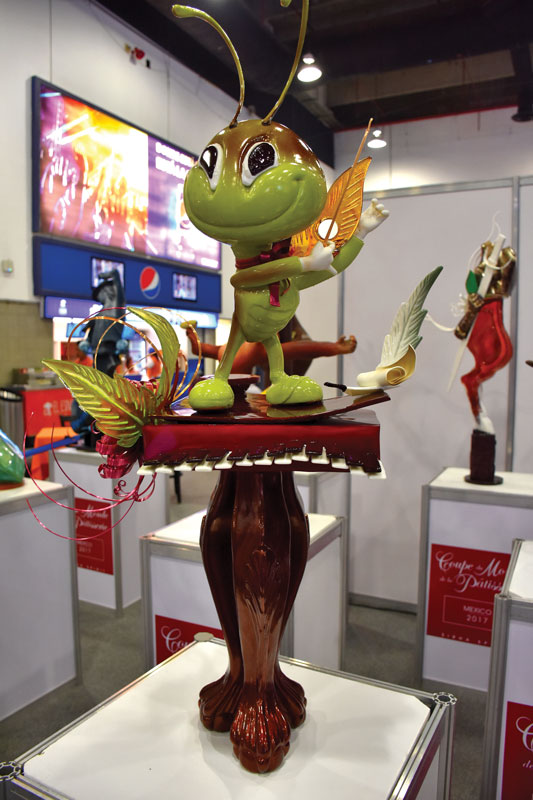 1st place of the competition National Team Coupe du Monde de la Patisserie