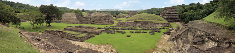 El Tajin archaeological zone, Veracruz, Mexico