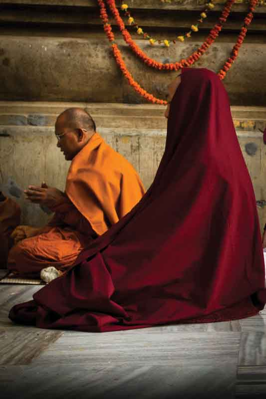 The national religion of Bhutan is Mahayana Buddhism (the great vehicle).