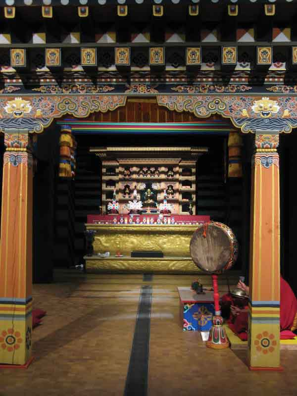Buddhism has influenced every aspect of Bhutan's life, especially art