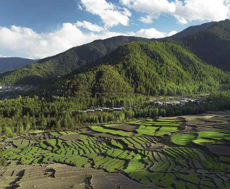 Bhutan is an example to the world, with more than 60% of its land still intact.