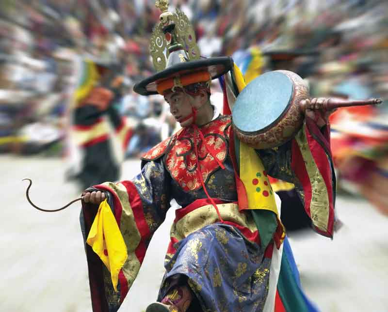Paro Tshechu  is the most popular religious  festival in Bhutan. It has been held annually since the 17th century.