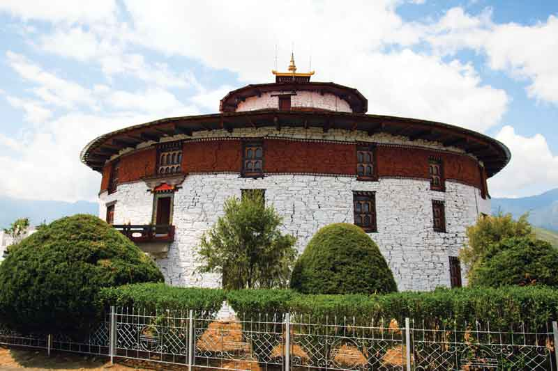 Ta Dzong is the National Museum of Bhutan, located on the Rinpung Dzong, Paro, was built in 1649.