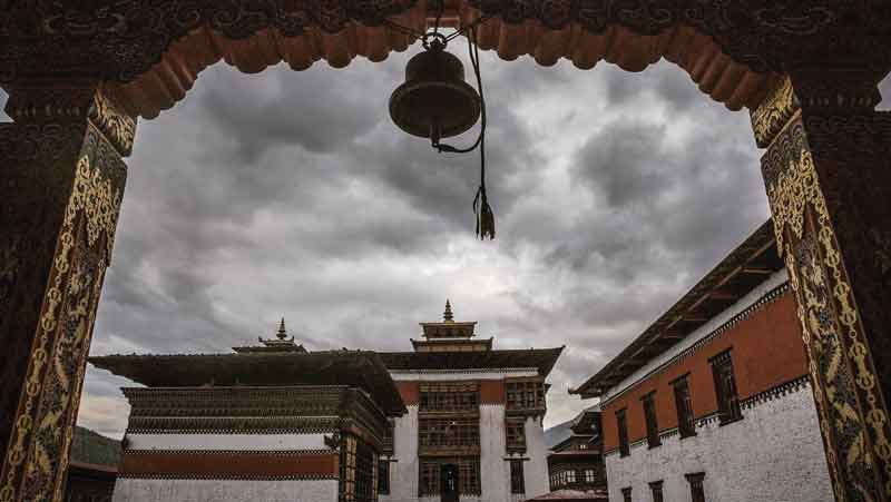 Tashichho Dzong has been the seat of the government since 1952.