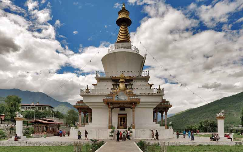The National Memorial Chorten of Thimphu.