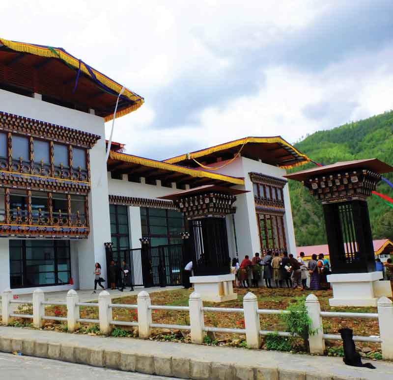 The Royal Textile Museum and Academy of Bhutan, where history is preserved and the future of traditional textiles is fostered.