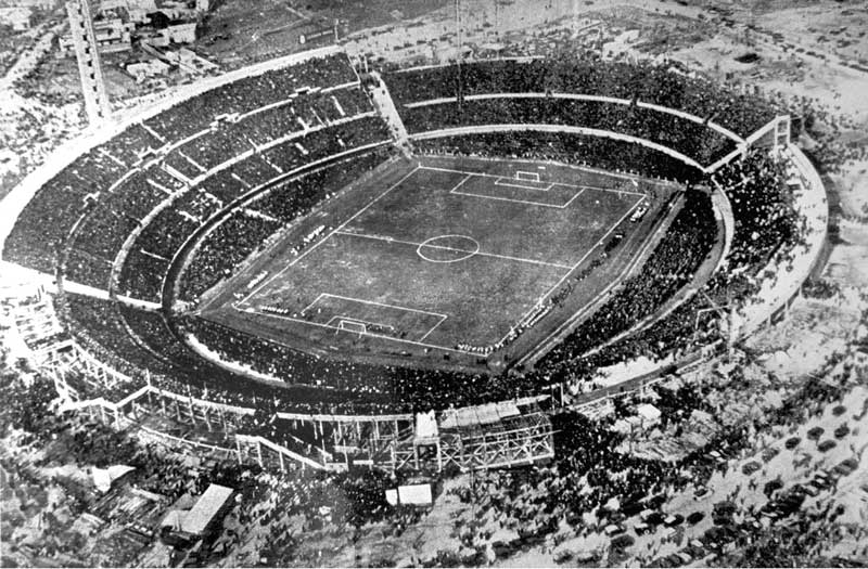 Amura,The Estadio Centenario was inaugurated on the 18th of July 1930, during the First World Soccer Tournament, won by Uruguay.