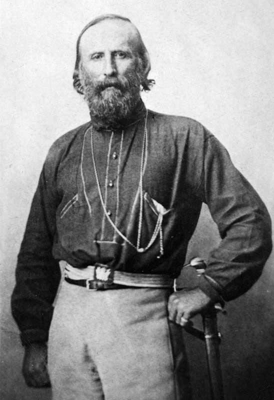 Amura,Giuseppe Garibaldi has been called the Hero of the Two Worlds because of his military enterprises in Brazil, Uruguay and Europe.