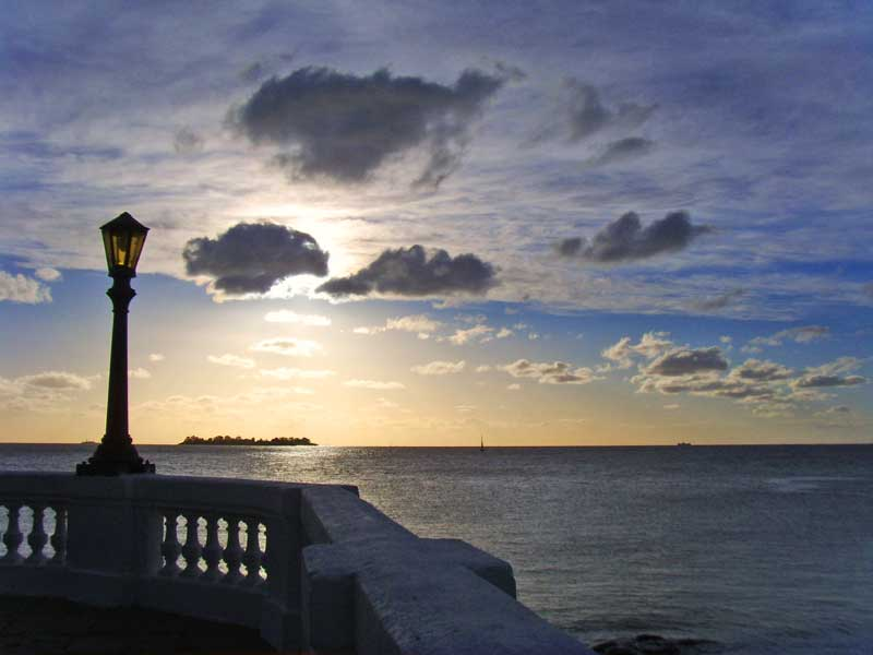 Amura,Uruguay is situated between several rivers, and on the south and southwest by the South Atlantic Ocean.