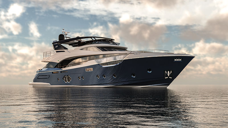 Amura,MCY 96, Monte Carlo Yachts.