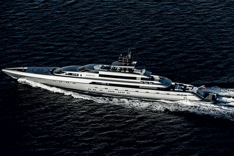 Amura,Silver Fast superyacht, Silveryachts