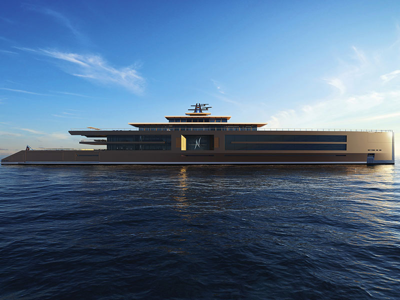 Amura,Concepto Nature de Sinot Exclusive Yacht Design.