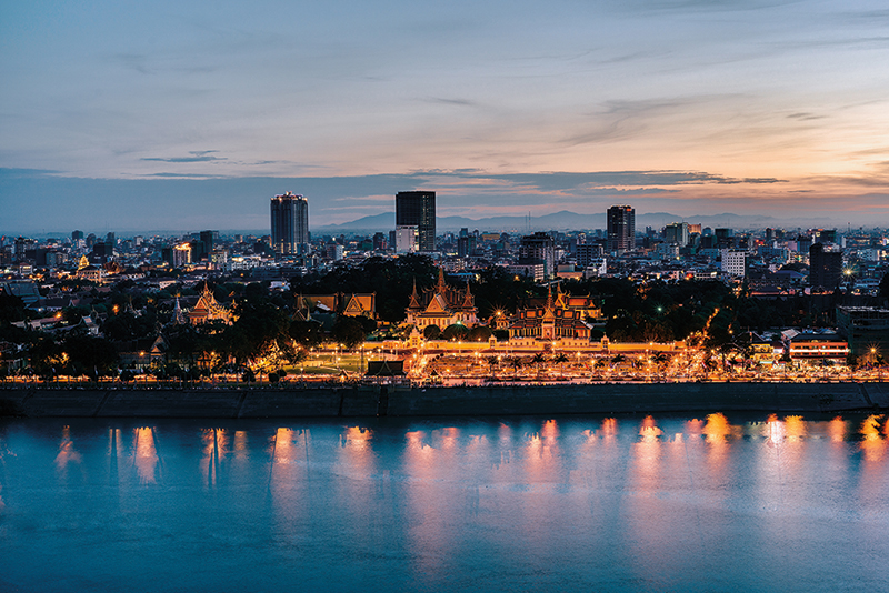 Amura, Camboya, Cambodia, Phnom Penh is the capital of Cambodia