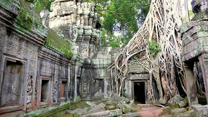 Amura, Camboya, Cambodia, The different temples at Angkor Park represent an ancient spiritual relic where you can find a connection with the gods.