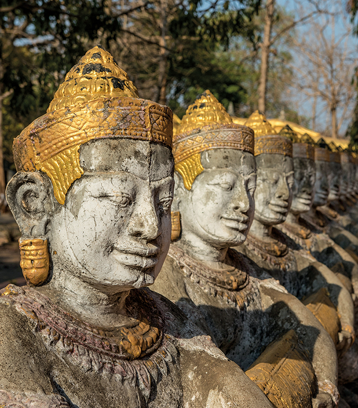 Amura, Camboya, Cambodia, Khmer art is rooted in the religious tradition of Buddhism.