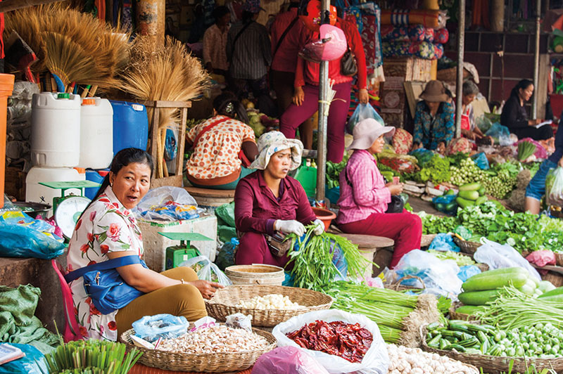 Amura, Camboya, Cambodia, Food tours will allow you to discover the delicacies of Khmer gastronomy.