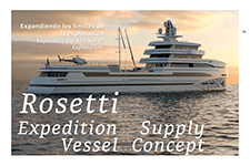 Rosetti 85 m Expedition Supply Vessel Concept - Rosetti Superyachts