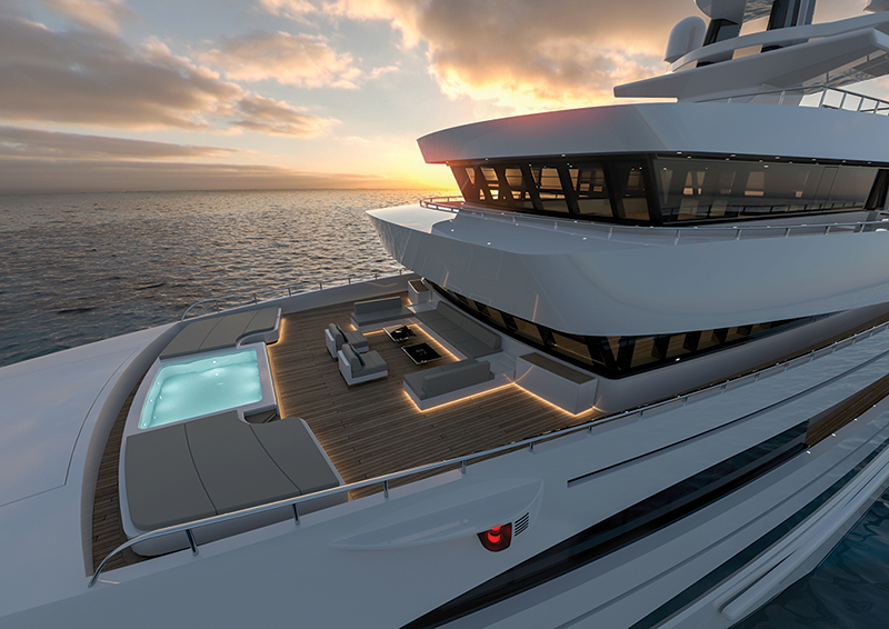 Amura, Camboya, Cambodia,Rosetti 85 m Expedition Supply Vessel Concept,