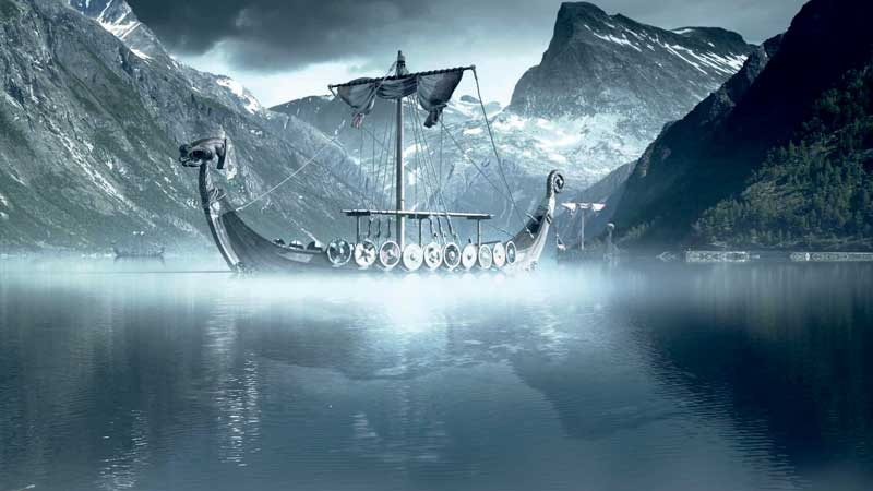 Amura,Dinamarca,Denmark,Vikingos,Escandinavia, Viking ships were highly advanced and reached as far away as Greenland, the American continent, Baghdad and Constantinople.