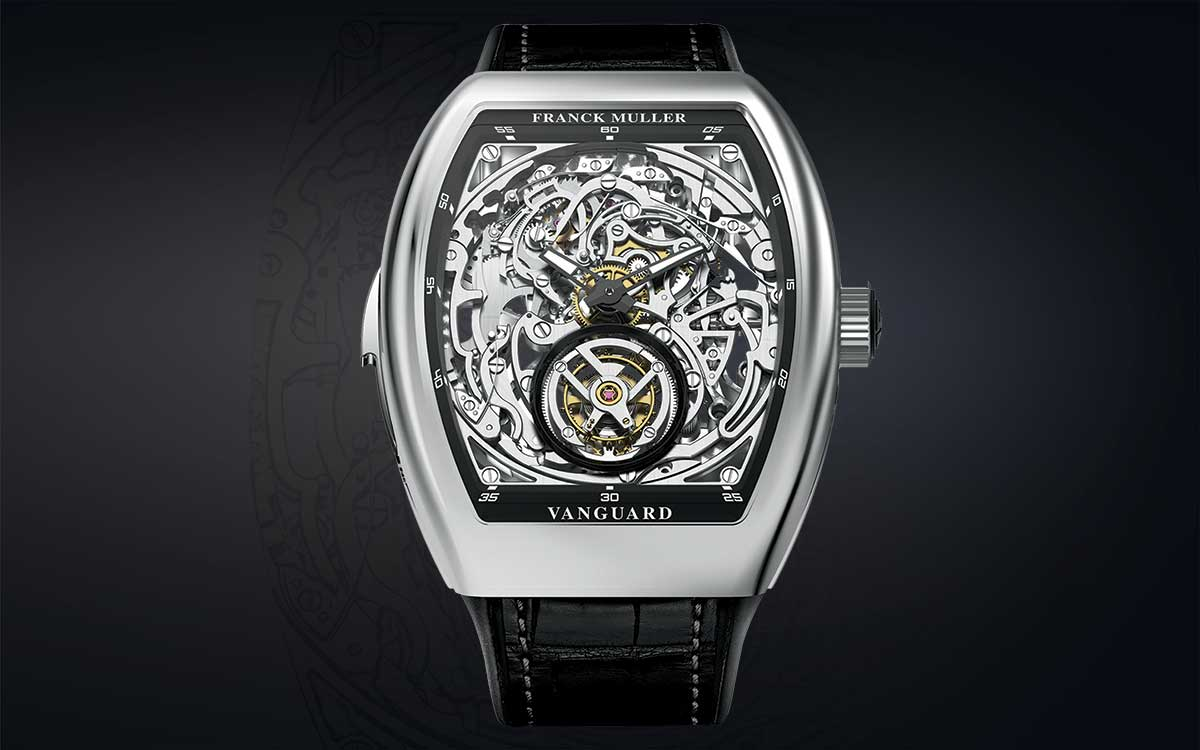 Franck Muller Geneve, Vanguard™  Tourbillon Minute Repeater