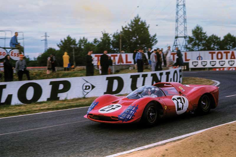 Amura, AmuraWorld,AmuraYachts,Groenlandia,Ford vs Ferrari, Original photograph of Mexican pilot Pedro Rodriguez competing in Le Mans 1966 with the number 27. Too bad they don't do Mention of him in the movie.
