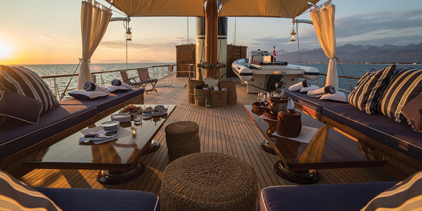 Routes on Rossinavi's yachts - Rossinavi Yachts